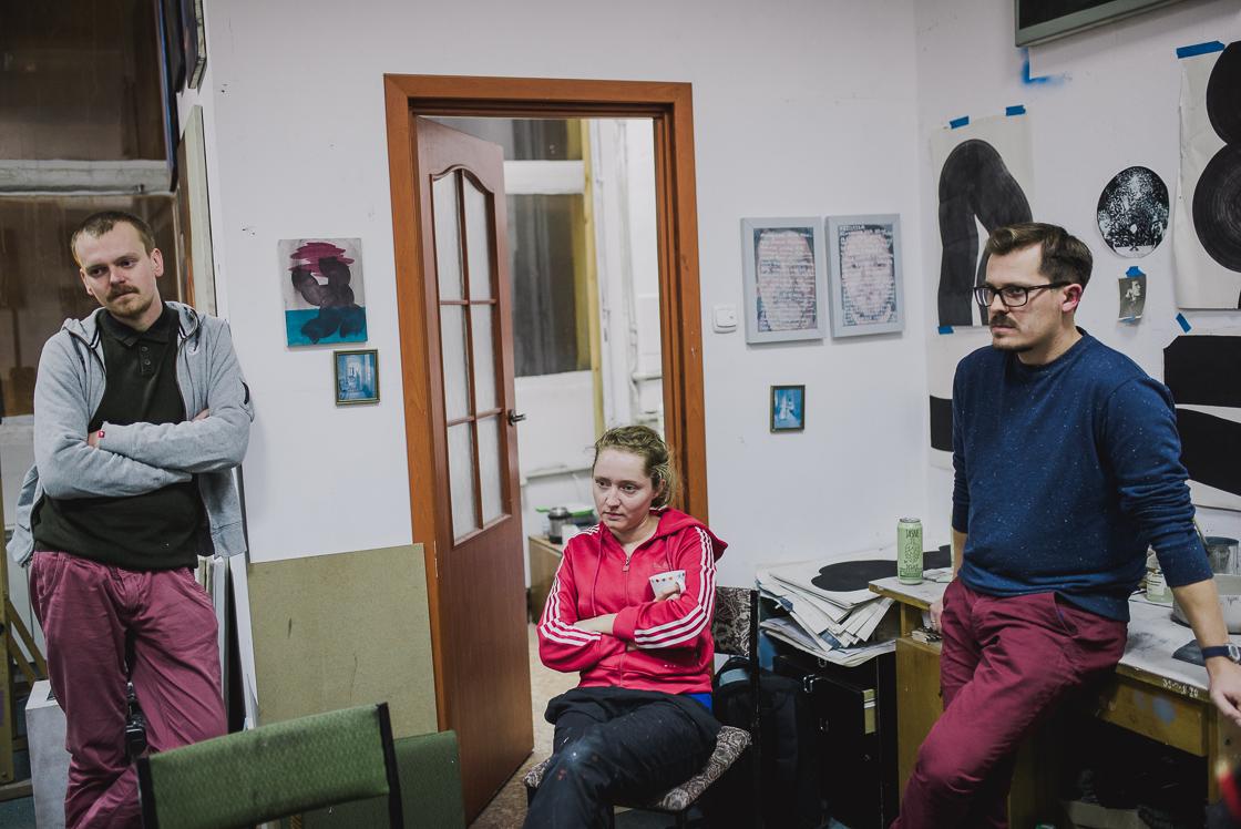 Projekt Pracownie_wywiad_Szczechowska_Zaborski_Zagórki_malarze_fot_Radek Zawadzki