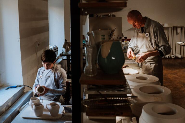 Projekt Pracownie_wywiad_Modelarnia Ceramiczna KOSAK_fot_Radek Zawadzki